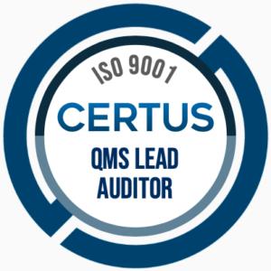 QMS Auditor Badge